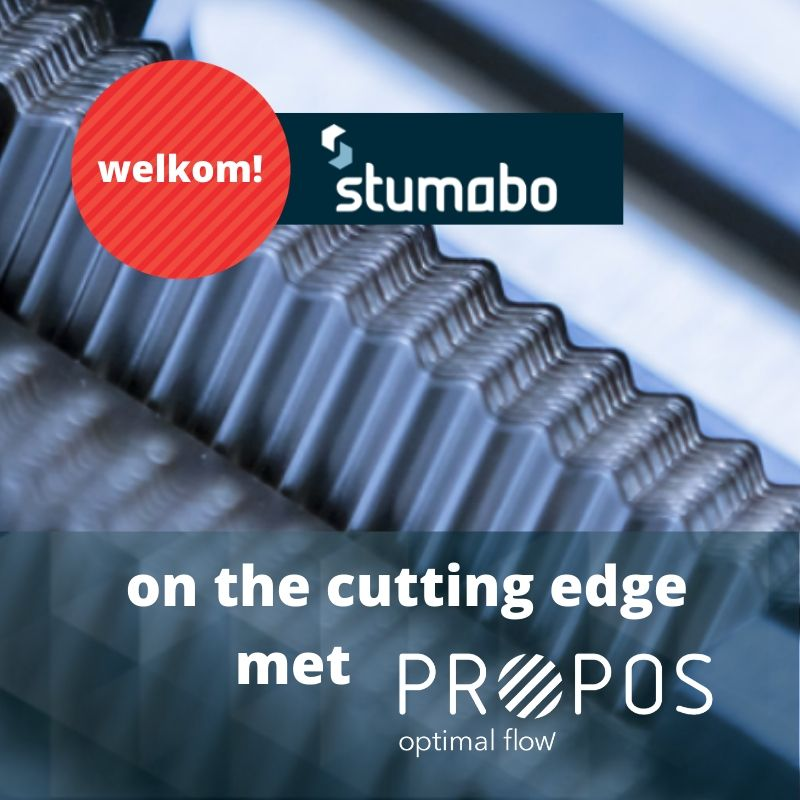 PROPOS houdt Stumabo op the cutting edge -
